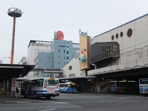 旧熊本交通センター(現在は再開発中)